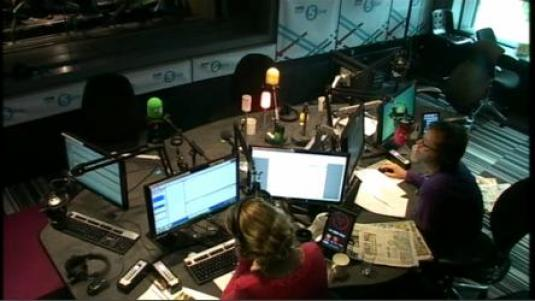 Live BBC Radio 5 Live Studio Streaming Video Webcam in Manchester England