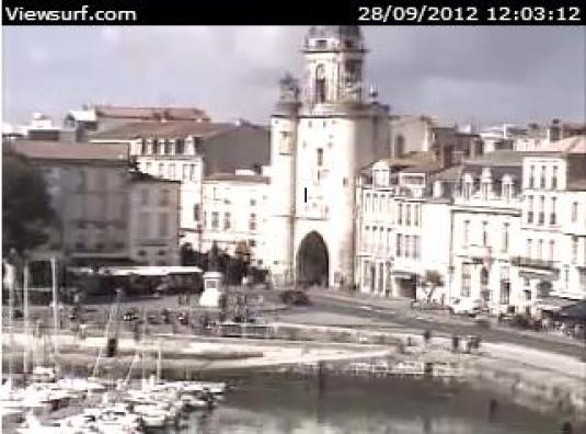 LIVE Streaming La Rochelle Harbour HD Weather Webcam France