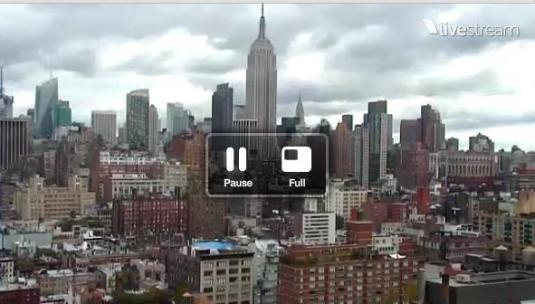 New York City Rooftop Live Video Streaming HD Webcam New York