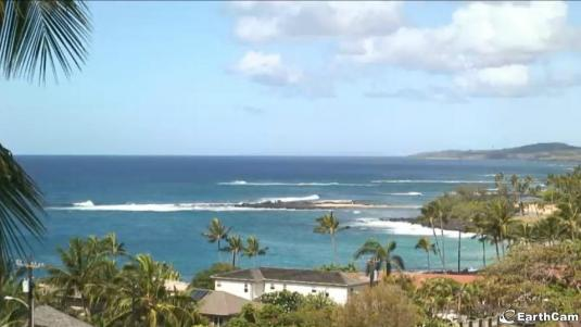 Live HD Streaming Poipu Beach Weather Camera on Kauai Island Hawaii!