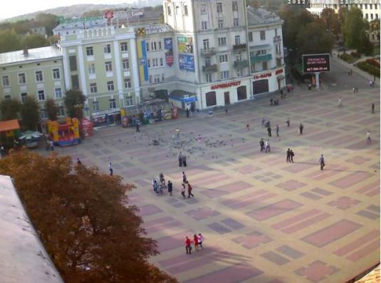 Ternopil Live Streaming City Centre Webcam in Ukraine