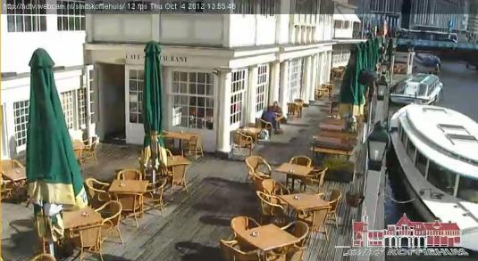 Amsterdam Coffee Shop Streaming Bar Cam Smits Koffiehuis