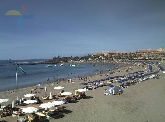 Los Cristianos Live Beach Weather Cam Las Vistas Beach Tenerife