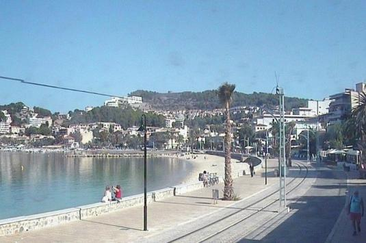 Port de Sóller Live Streaming Beach Resort Weather Webcam Mallorca