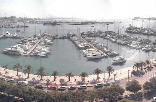 Palma Bay de Mallorca Streaming Marina Webcam Mallorca Spain