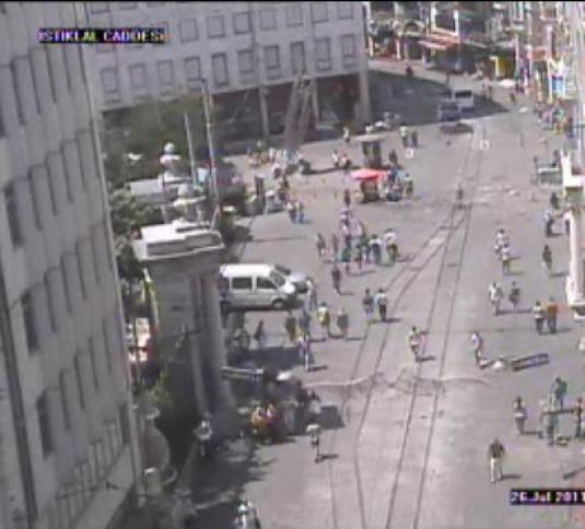 Istiklal Street Live Streaming HD Istanbul Webcam in Turkey