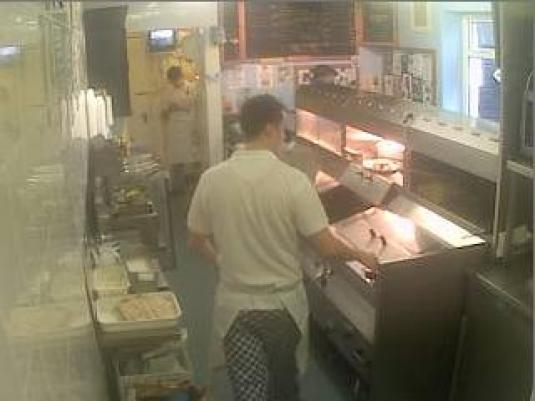 LIVE Streaming Chip Shop Webcam, Arnside, England