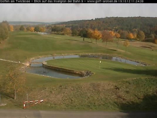 Live Streaming HD 9th Hole Golf Cam Germany