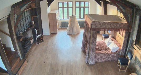 Great Chamber Live Ordsall Hall GhostCam Salford Quay Manchester