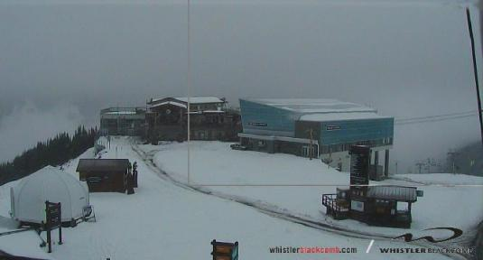 Whistler Blackcomb Mountain Skiing Weather Webcam British Columbia Canada