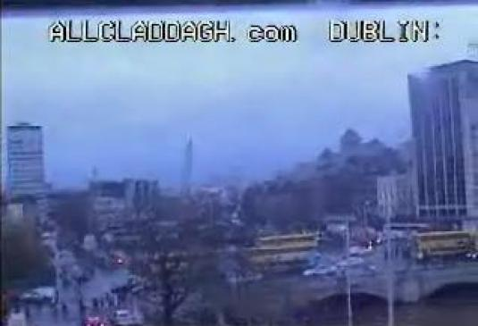 Dublin City Centre Real Time Streaming Webcam