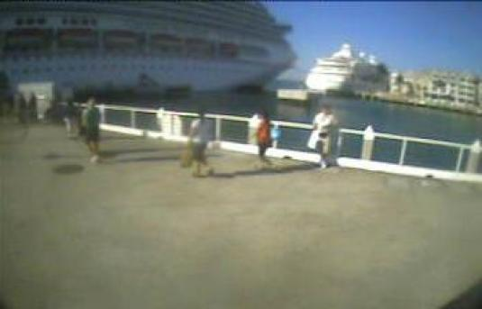Key West Live Streaming Cruise Ships webcam Florida