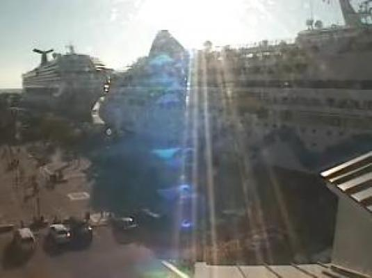 Mallory Square Cruise Ships Streaming Webcam Key West Florida