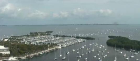 Coconut Grove Live Streaming Dinner Key Marina Weather Cam Florida