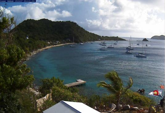 Cooper Island HD Real Time Weather Cam British Virgin Islands Caribbean