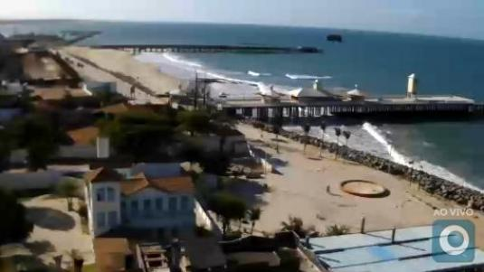 Ponte dos Ingleses Streaming Weather Cam Iracema Beach Fortaleza Brazil