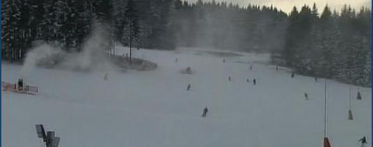 Live Streaming Zadov Ski Resort Snow Weather Cam Czech Republic