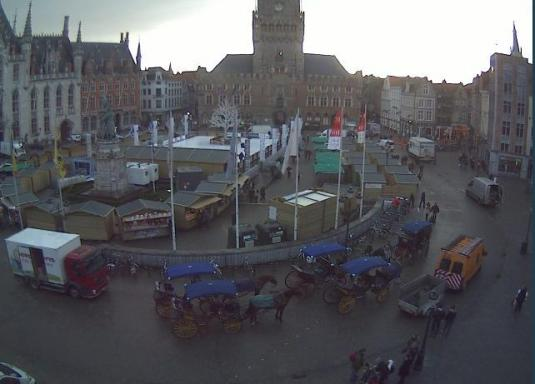 Bruges Markt Streaming Market Square Weather Cam
