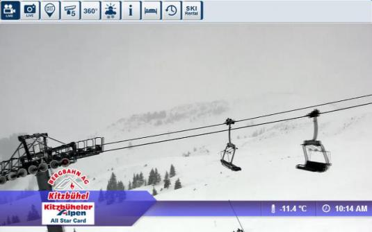 Live Streaming Jochberg Ski Resort Skiing Weather Webcam, Austria