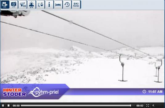 Hinterstoder Ski Resort Live Streaming Weather Skiing Webcam, Austria