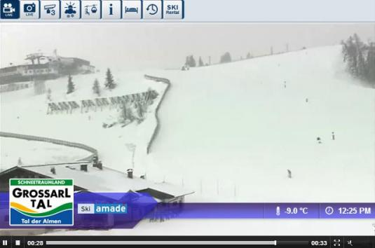 Live Streaming Großarl Ski Resort Skiing Weather Webcam