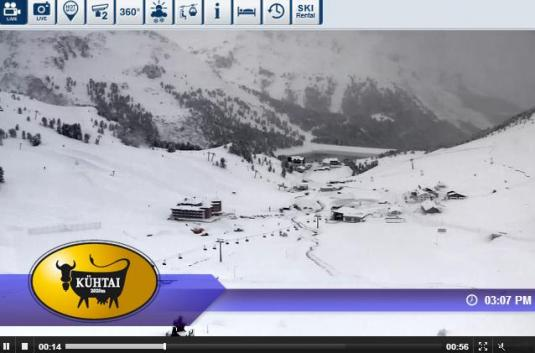 Kühtai Ski Resort Live Streaming Skiing Weather Webcam, Austria