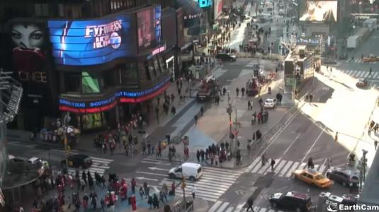 Live hd streaming video times square panorama cam new york for Camera streaming live