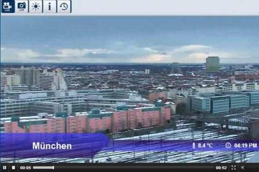 Live Streaming Munich City Center Weather Webcam, Germany