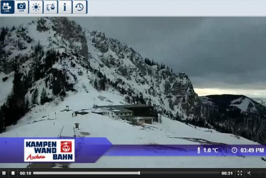 Aschau Kampenwand Ski Resort Live Streaming Skiing and Snowboarding Weather Webcam, Germany