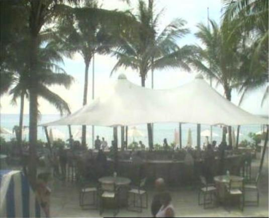 Catch Beach Club Bar Streaming Cam Surin Beach Phuket Thailand