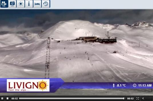 Live Streaming Livigno Ski Resort Streaming Skiing and Snowboarding Weather Webcam, Italy