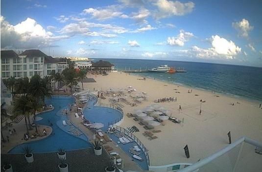 Playa Del Carmen Live Beach Weather Cam Quintana Roo Mexico
