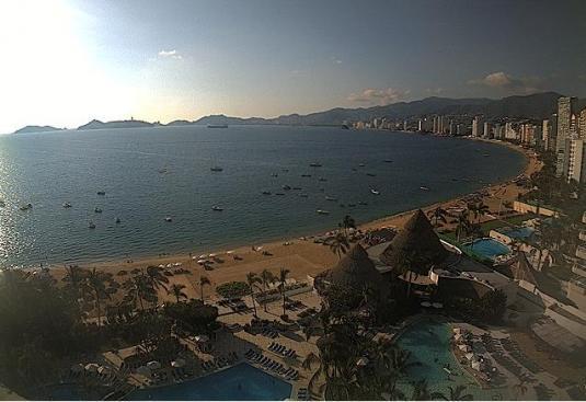 Acapulco Live Beach Weather Web Cam Acapulco Guerrero Mexico