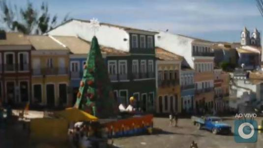 Salvador Live Streaming Largo do Pelourinho Webcam Bahia Brazil