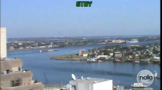 New Orleans Live Streaming Mississippi River Ships Webcam Louisiana