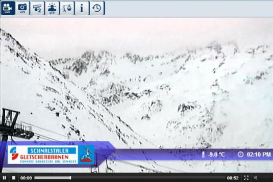 Val Senales Ski Resort Live Streaming Skiing and Snowboarding Weather Webcam, Italy