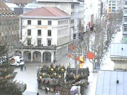 Webcam Stuttgart Weihnachtsmarkt.Live Stuttgart City Streaming Weather Cam Schlossplatz City Square