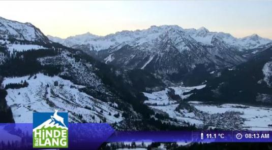 Live Streaming Bad Hindelang Skiing Resort Weather Cam Bavaria Germany