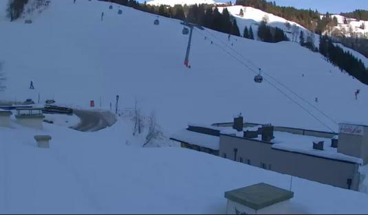 Saalbach-Hinterglemm Live Streaming Skiing Pistes Weather Cam