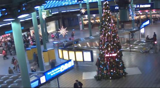 Amsterdam Airport Schiphol Streaming Live Arrivals Airport Terminal Webcam