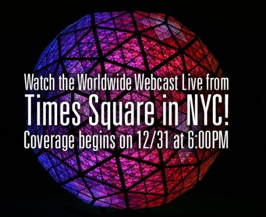 Livestream Times Square New York 2013 New Year Eve Concert Live Streaming Webcast