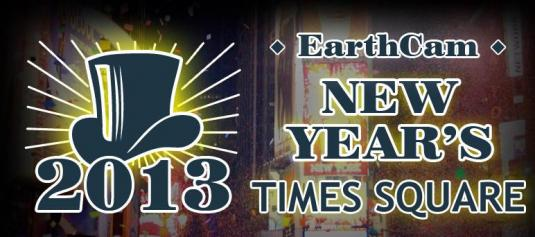 Earthcam Times Square New Year Eve Steaming Web Cams Live Webcast New York City 2012-2013