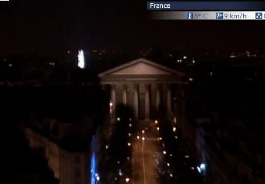 Champs Elysees Live Streaming Paris Webcam New Year Celebrations France