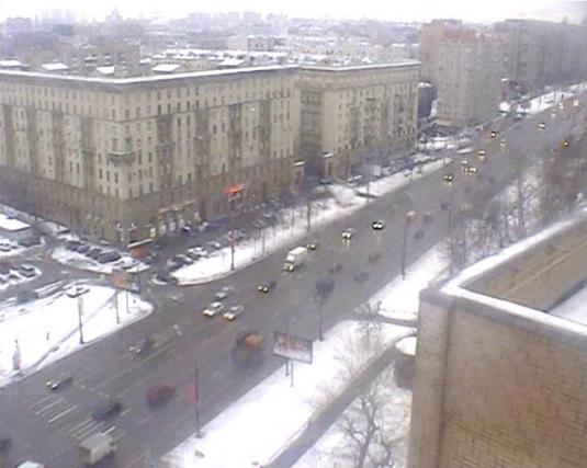 Novospassky Bridge Live Moscow City Centre Weather Webcam Russia