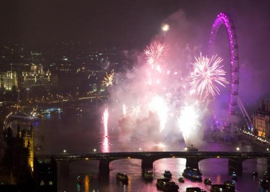 London 2013 New Year Eve Party Celebrations Streaming Live Webcam