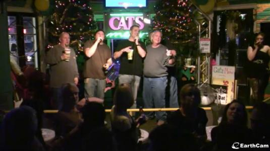 Live Streaming Karaoke Bar Cam With Audio Cats Meow Karaoke Bar New Orleans