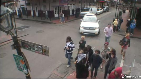 Bourbon Street Live Streaming New Orleans Webcam Louisiana