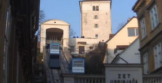 Zagreb Funicular Railway Streaming Zagreb webcam Croatia