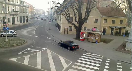 Karlovac City Centre Live Streaming Traffic Cam Central Croatia
