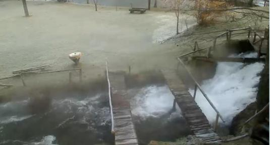 Rastoke Nature Park Streaming Weather Webcam Slunj in Croatia